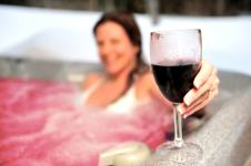 Домашно спа с вино