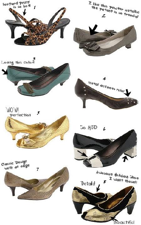 Обувки със среден ток