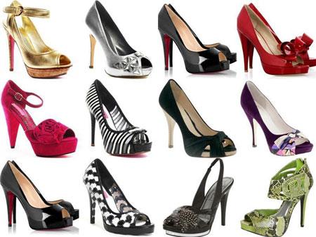 Високи обувки - с висок ток