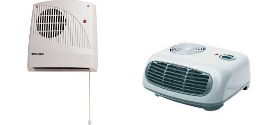 Вентилаторна печка за отопление