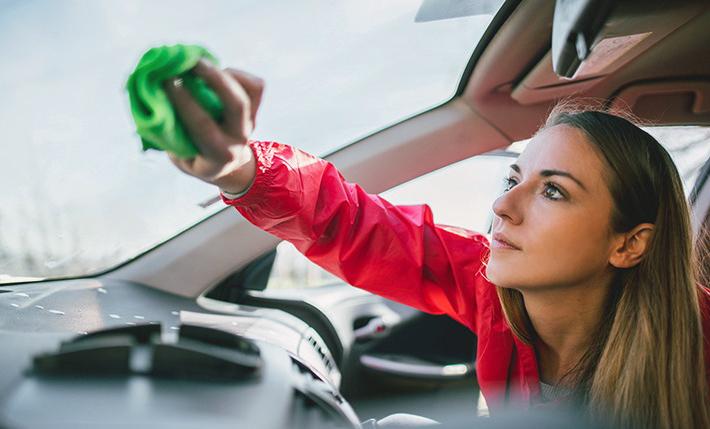 Лятно почистване на колата