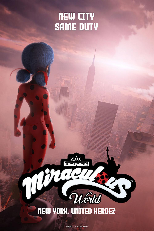 Мега-чудесата на Калинката и Черния котарак. Чудотворен свят: Ню Йорк – обединени герои (2020)